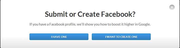 BrandYourself Account Link Screen
